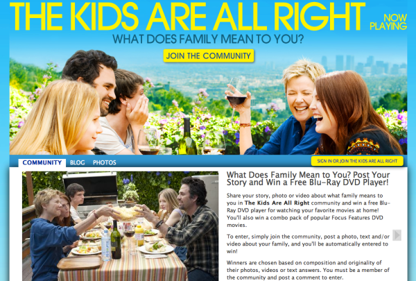 The Kids Are All Right Movie Site