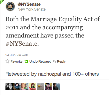 Twitter Hashtags That Promoted Ny Marriage Equality The Bilerico